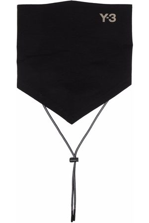 Y-3 Men Scarves - Logo-print bandana