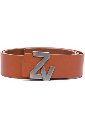 Zadig & Voltaire Men Belts - Logo-buckle belt