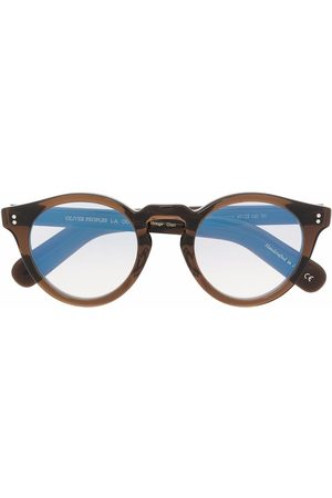 Oliver Peoples Martineaux round-frame glasses