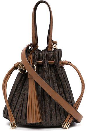 Michael Kors Willa pleated logo tote bag