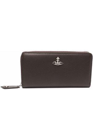 Vivienne Westwood Orb-logo leather wallet