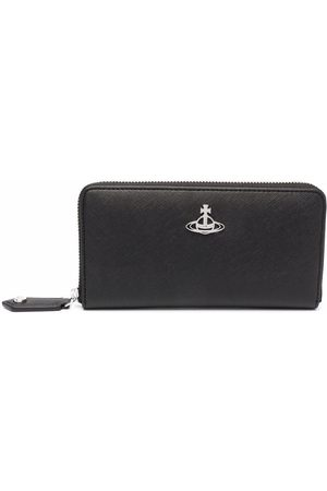 Vivienne Westwood Orb-logo faux leather wallet