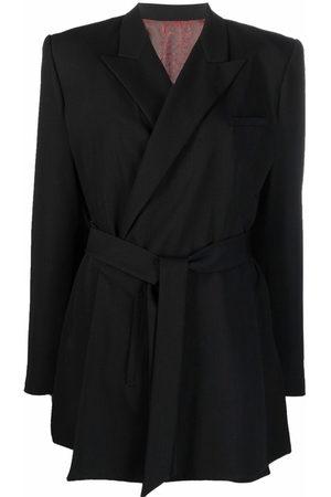 Jean Paul Gaultier 1990s belted double-breasted blazer