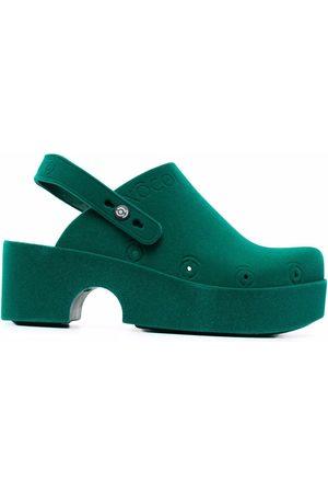 xocoi Women Platform Sandals - Platform clog slingback shoes