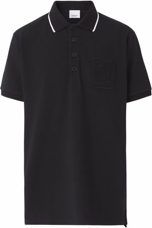 Burberry Logo-patch polo shirt
