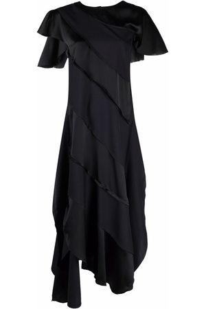 Plan C Asymmetric panelled dress