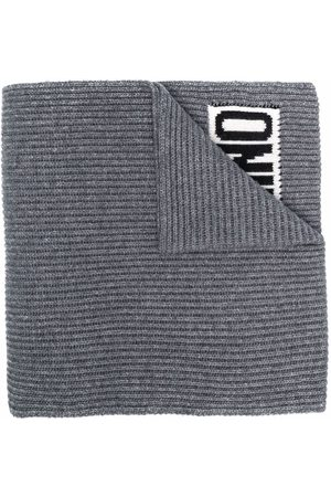 Moschino Men Scarves - Logo-print detail scarf