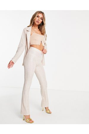 ASOS Jersey shimmer suit kickflare trouser in