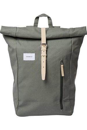 Sandqvist Dante Backpack - Dusty With Natural Leather