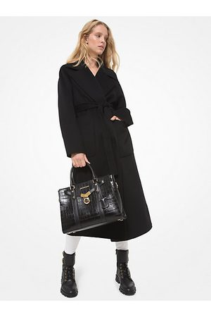 Michael Kors Women Trench Coats - MK Double Face Wool Blend Coat - - Michael Kors