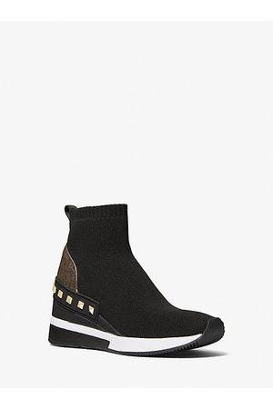 Michael Kors MK Skyler Studded Stretch Knit Sock Sneaker - - Michael Kors