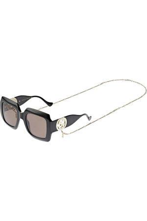 Gucci Women Sunglasses - Chain Squared Sunglasses