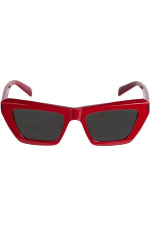 Saint Laurent Sl 467 Bolded Acetate Sunglasses