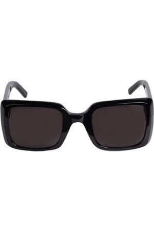 Saint Laurent Sl 497 Squared Acetate Sunglasses