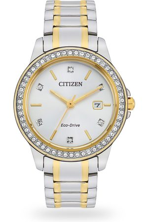 Citizen Women Watches - Crystal Dot Echo-Drive Ladies watch