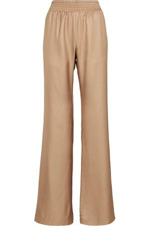 GABRIELA HEARST Themis wide-leg silk pants