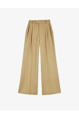 Ted Baker Neila wool-blend palazzo trousers