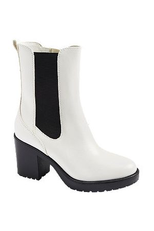 Graceland Chunky Heeled Chelsea Boot