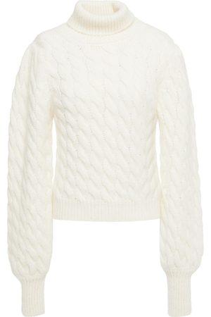 Paul & Joe Women Turtlenecks - Woman Cable-knit Turtleneck Sweater Ivory Size 1