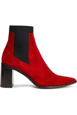 RAG & BONE Woman Suede Ankle Boots Size 37.5