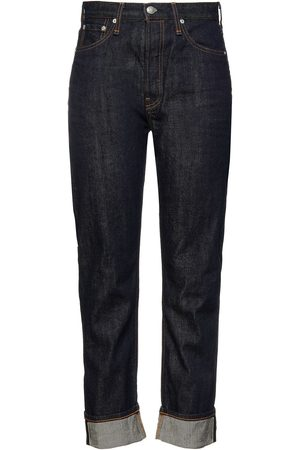 RAG & BONE Women Slim - Woman Maya High-rise Slim-leg Jeans Dark Denim Size 23