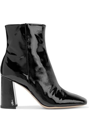 Sam Edelman Women Ankle Boots - Woman Codie Patent-leather Ankle Boots Size 10