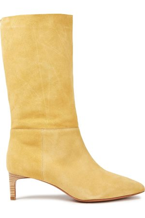 Bash Women Heeled Boots - Woman Suede Boots Size 36