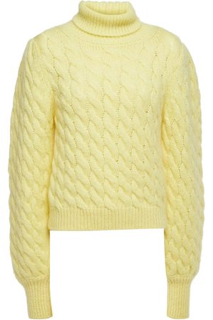 Paul & Joe Woman Cable-knit Turtleneck Sweater Size 0