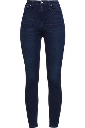 RAG&BONE Women Skinny - Woman Nina High-rise Skinny Jeans Dark Denim Size 23