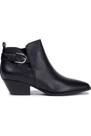 Sam Edelman Woman Leather Ankle Boots Size 5
