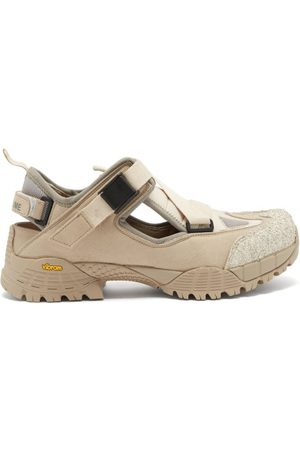 Yume Yume Hiking Buckled Faux-suede Sandals - Womens