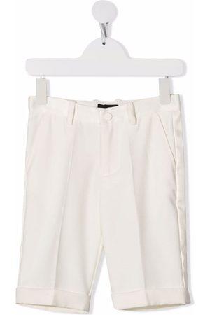 MONNALISA Boys Straight - Straight-leg chino shorts - Neutrals