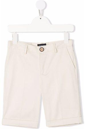 MONNALISA Boys Straight - Explorer straight-leg shorts - Neutrals