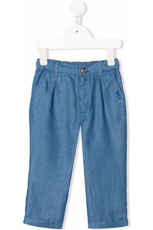MONNALISA Straight-leg denim trousers