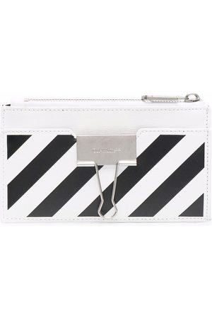OFF-WHITE Binder Clip compact wallet