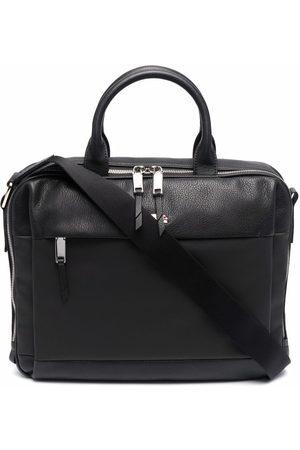 Bally Logo top-handle briefcase