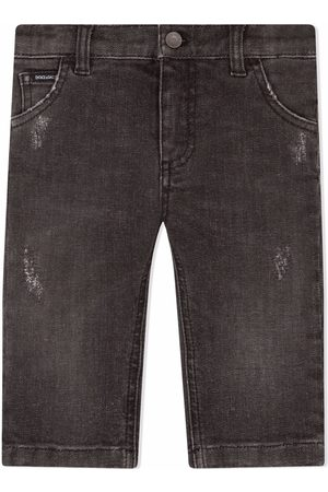 Dolce & Gabbana Straight-leg stretch jeans