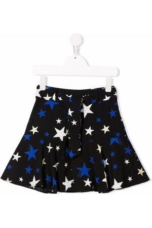 Twin-Set Kids Star-print flared skirt