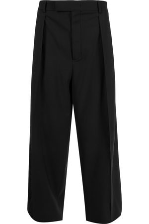 VALENTINO Pleat-detail wide-leg trousers