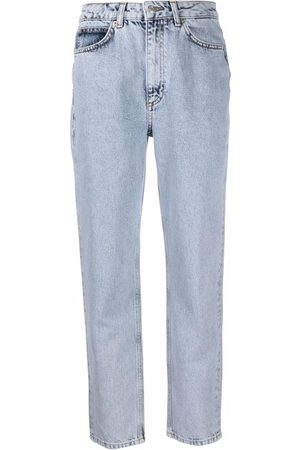 12 STOREEZ Women Tapered - High-rise tapered jeans