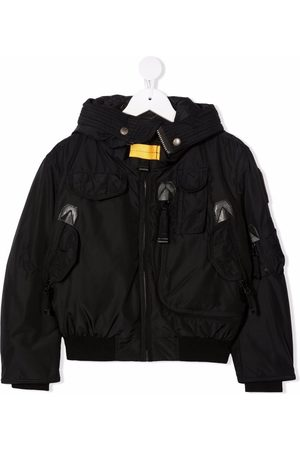 Parajumpers Feather-down hooded bomber jacket