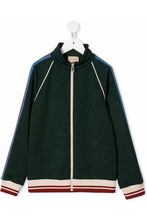Gucci Boys Summer Jackets - GG jacquard track jacket