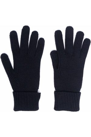 Woolrich Logo knitted gloves