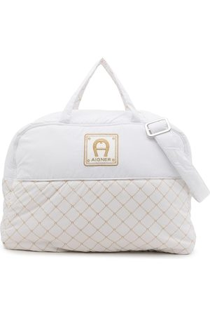 Aigner Logo-embroidered changing bag