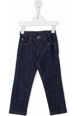 KNOT Straight-leg cotton jeans