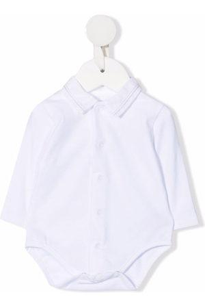 KNOT Shirt-collar newborn babygrow