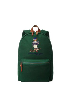 Polo Ralph Lauren Men Rucksacks - Polo Bear Canvas Backpack