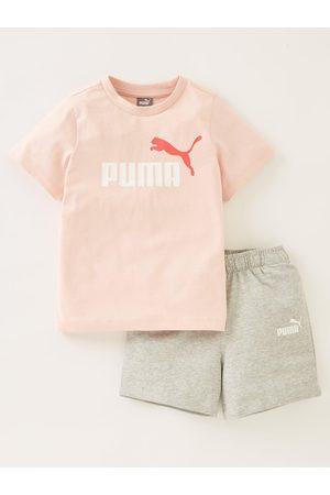 PUMA Infant Minicats T-Shirt & Shorts Set