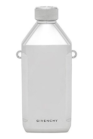 Givenchy Water Bottle On Strap in Silvery