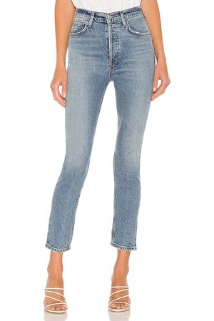 AGOLDE Nico High Rise Slim in . Size 24, 25, 26, 27, 28, 29, 30, 31, 32, 33, 34.